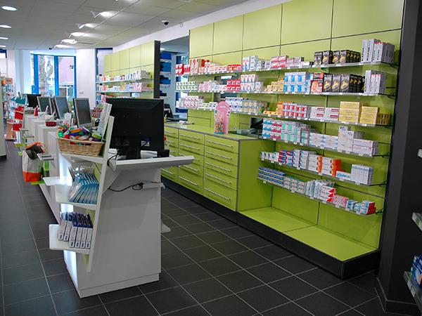 pharmacie caisse