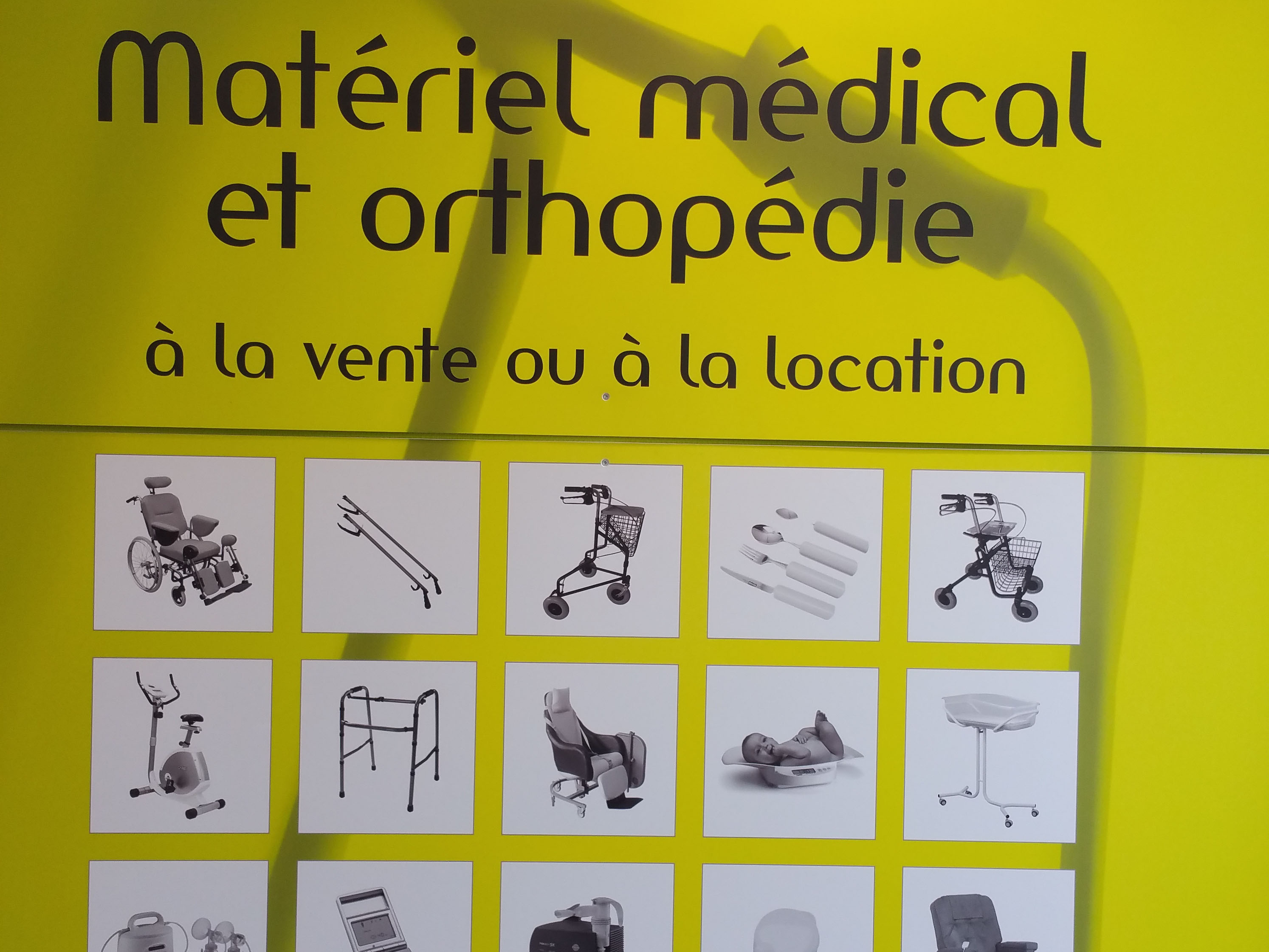 matériel médical orthopédie en vente ou location