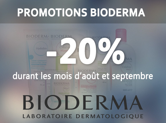 Promotions bioderma